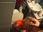 Amazing Hot Blonde Teen Doggystyle