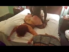 Big booty cougar cheats on hubby with young black guy she met on milfhoookup