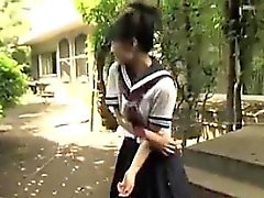 Japanese Schoolgirls Flashing Panties