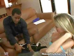 Courtney Cummz Tempts A Black Guy