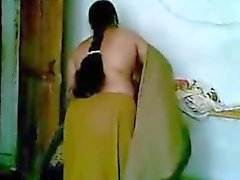 Hot Indian Desi Anty Having Sex With His Young Boyfriend