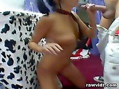 Stephanie Cane Slutty Schoolgirl Tastes Big F