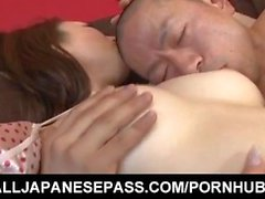 Koyuki Hara has hairy crack licked and fingered before frigging