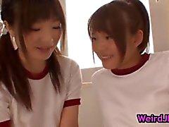 Beautiful harune maeda and megumi shono part4