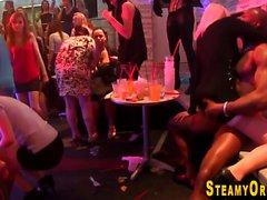 Teen spunked by stripper