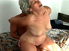 White Hairs and young cock