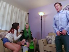 Anal Delinquent: Babysitters Blackmailed Lady Fyre