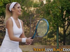 Tennis teen spunk black