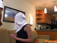 Amateur teen disgraced during hookup
