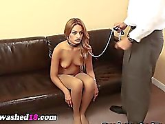 Hypno teen in pantyhose