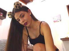 Girl Chat Horny Webcam Teen Loves Anal Beads