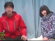 Busty asian teen GF doggystyle analized