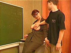 Teacher Seduces A Young Stud