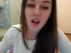Cute teen big boobs masterbation on webcam