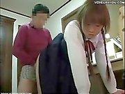 Japanese teen voyeur tutorial fucking