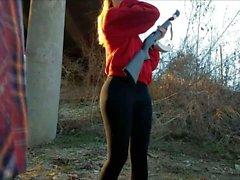 Hot candid ass