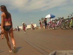 Teens Strolling on the Boardwalk (White or Black?) (Graz 33)