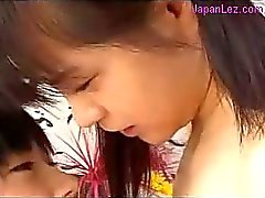 2 Young Girls Sucking Nipples Licking Fingering Pussies On The Bed