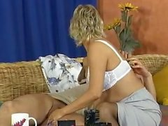 Hot milf and her younger lover 621