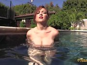 Tessa Fowler - Silver String Bikini