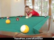 TeenPies - Sexy Blonde GF Begs Boyfriend For Creampie