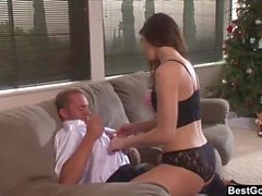 BestGonzo - Faith Leon Gets Fucked Raw By The Pizza Guy