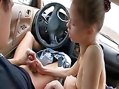 adorable blowjob in my car