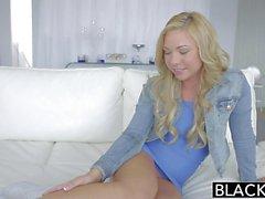 BLACKED Hot Blonde Teen Katerina Kay Takes Huge Black Cock