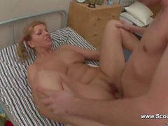 nastyplace - German mom and young boy