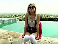 Sexy teen Chloe Foster gets analfucked
