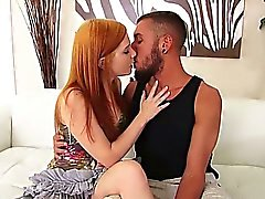 Redhead teen amateur first time fuck casting with big cock