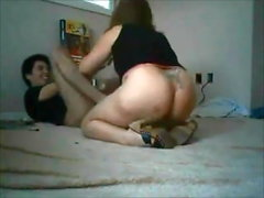 Curvy milf fucked by younger boy