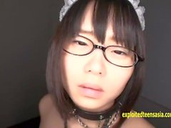 Cute Shiori Koto Jav Teen Debut Bound With Rope Splitting Her Labia