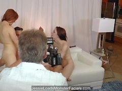 BTS - Penny surprises hubby with teen cunt - Anna Deville