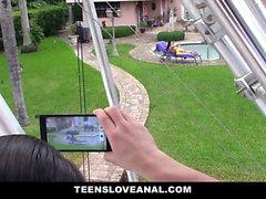 TeensLoveAnal Teen Ass Fucked By Peeping Tom