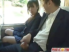 Japanese college babe is a sexy chick