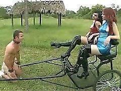 Awesome Kinky Wild Fem Dom Girl Extreme Sex