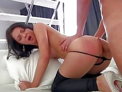 First Anal Quest Milena C