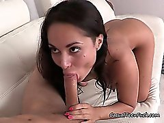 Hot Teen Aria Gives Her Boyfriend A Great Blowjob