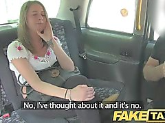 FakeTaxi - Out of work brunette gets cash