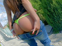 Ass Traffic Double penetration for petite teen