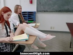 TeamSkeet - Daisy Stone And Maya Kendrick Anal Fucked By Their Prof
