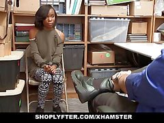 ShopLyfter - Cute Ebony Teen Trades Sex for Freedom