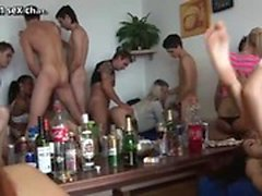 Home orgy college party