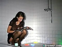 Slut Getting Ass Fisted In The Shower