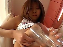 Busty tan Japanese schoolgirl big breast complex Subtitles
