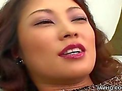 Busty Marie Sugimoto vibrator and fingering pleasures!