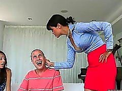Janice Griffith Gets Caught by Dana Vespoli