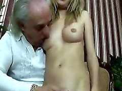 Old Guy Gets A Chance To Fuck An Amazing Young Beauty Hard