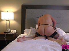 Camilla Love fucked by MILF with Strapon